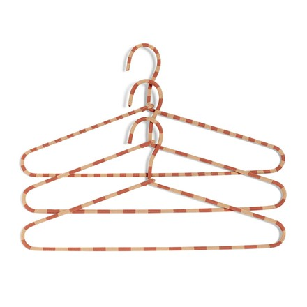 The Hay - Cord Hangers set of 3 striped in powder