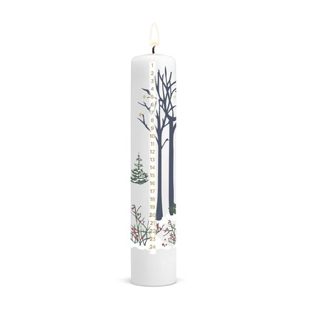 Christmas Calendar Candle 2016 from Holmegaard