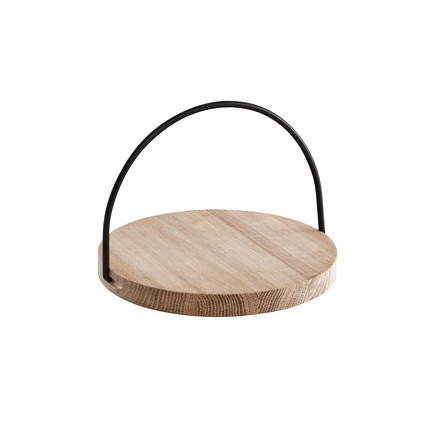 Woud - Loop Tray small, black