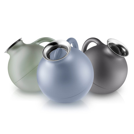 Globe Vacuum Jug in Nordic Grey, Blue and Green