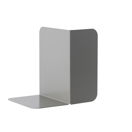 Compile Bookend by Muuto in Grey