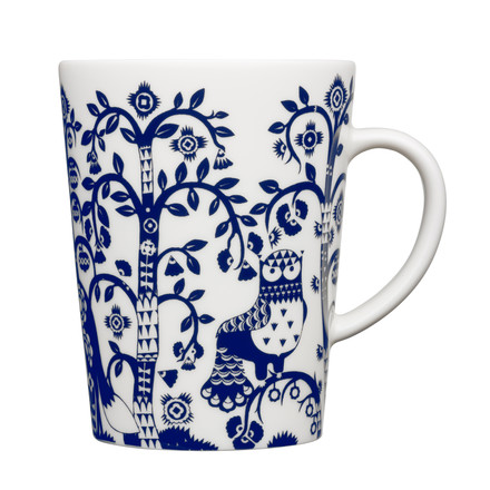 Iittala - Taika Mug with handle, midnight blue 0.40 l