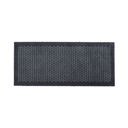 The tica copenhagen - Dot Doormat in grey, 67 x 150 cm