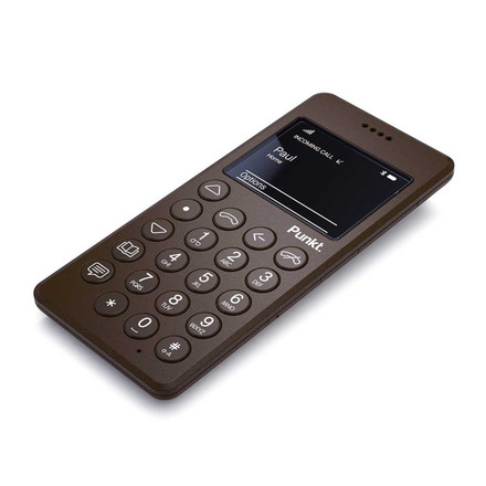Punkt. -  Mobile Phone MP01(Type C Europe), brown