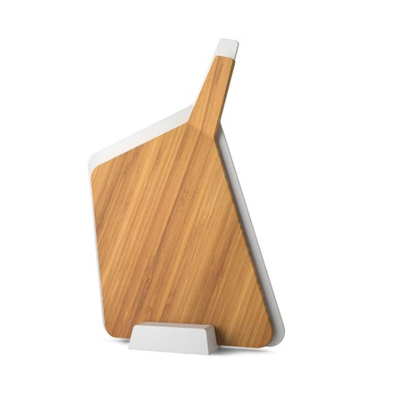 Forminimal Chopping Board Set by Black + Blum in White / Bamboo