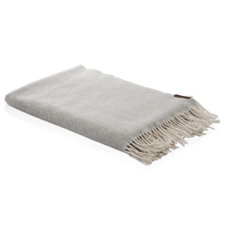Merino Throw 120 x 190 cm by Fritz Hansen in Grey