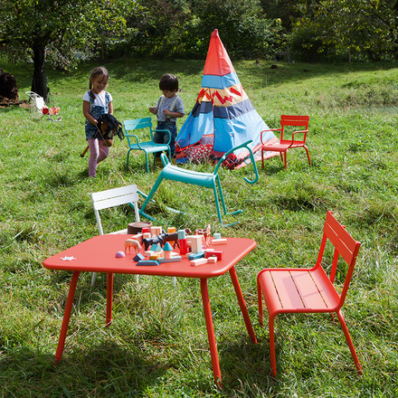 Luxembourg Kid Children's Bench and Chair by Fermob