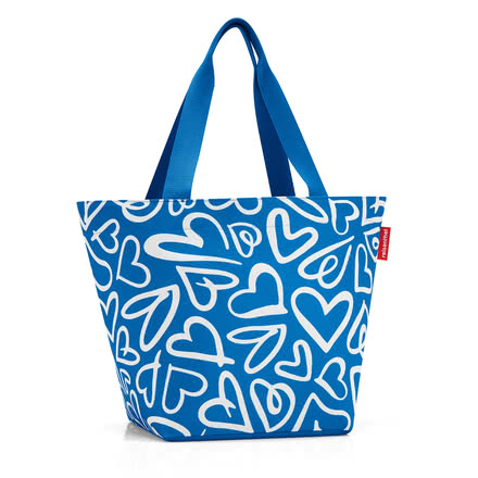 reisenthel - shopper M, funky hearts