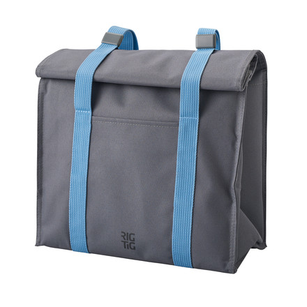 Rig-Tig by Stelton - Keep-It Cool Cooling Bag, grey / blue