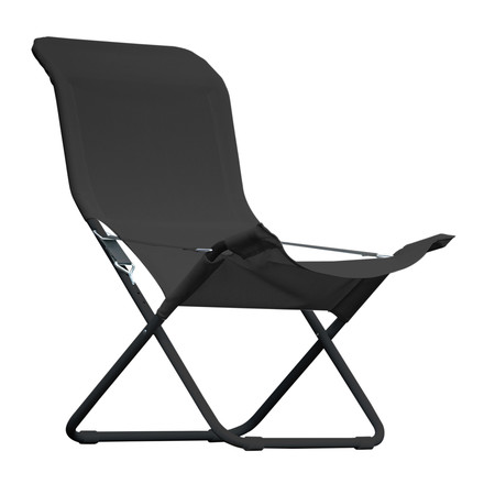 Fiam - Fiesta Easy Chair, black / black (limited edition)