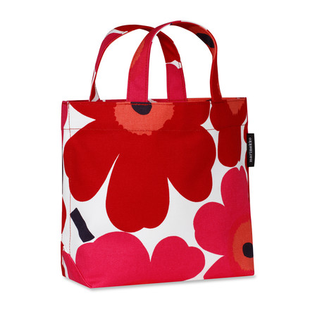 Unikko Veronika Bag by Marimekko in red / white