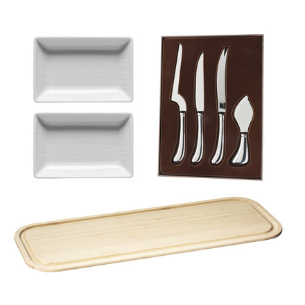 Enjoy Your Life Cheese Set (4 pieces) by Rosenthal