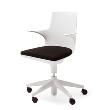 Kartell - Spoon Chair, white / black
