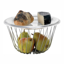 A di Alessi - A Tempo Wire Fruit Basket