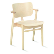 Artek - Domus Chair, natural birch, lacquered