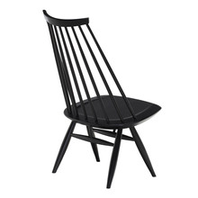 Artek - ;ademoiselle Lounge Chair, black stained