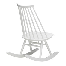 Artek - Mademoiselle Rocking Chair, white lacquered