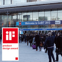 iF-Design on the CeBIT 2013
