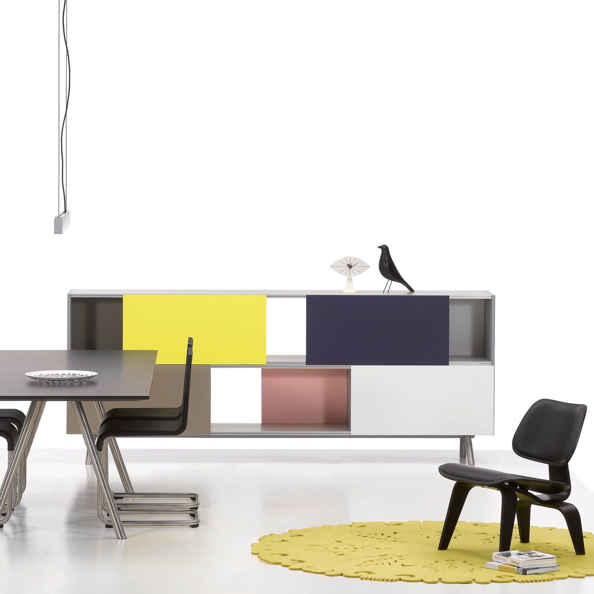 Fabulous Design Classics By Vitra Combined With Charles Eames Stuhl Wei  With Vitra Sessel