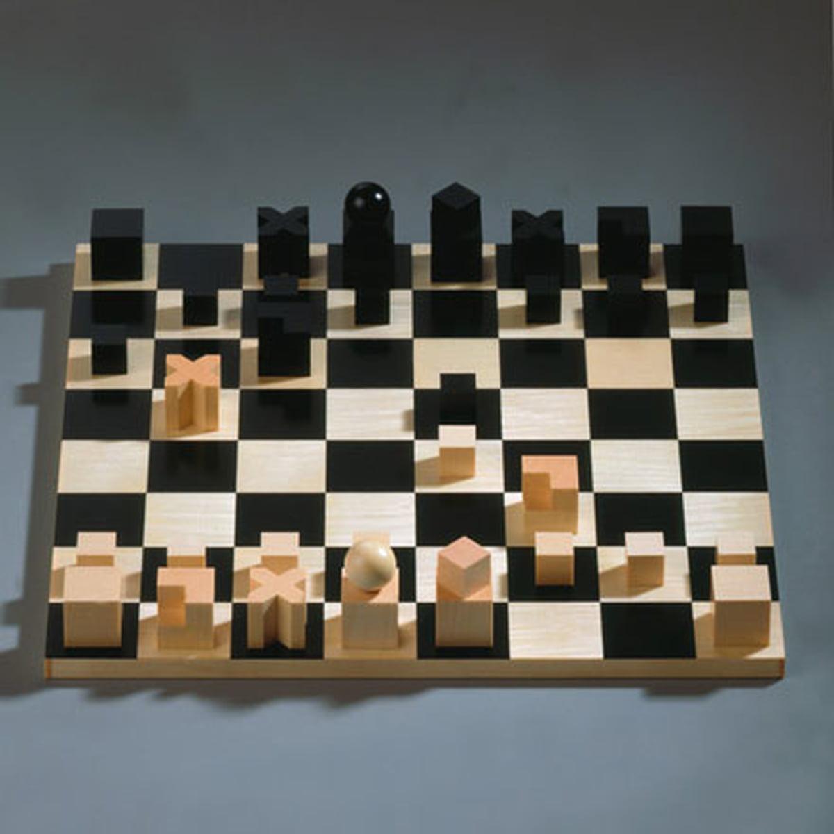 Bauhaus Chess Set Naef Spiele Shop