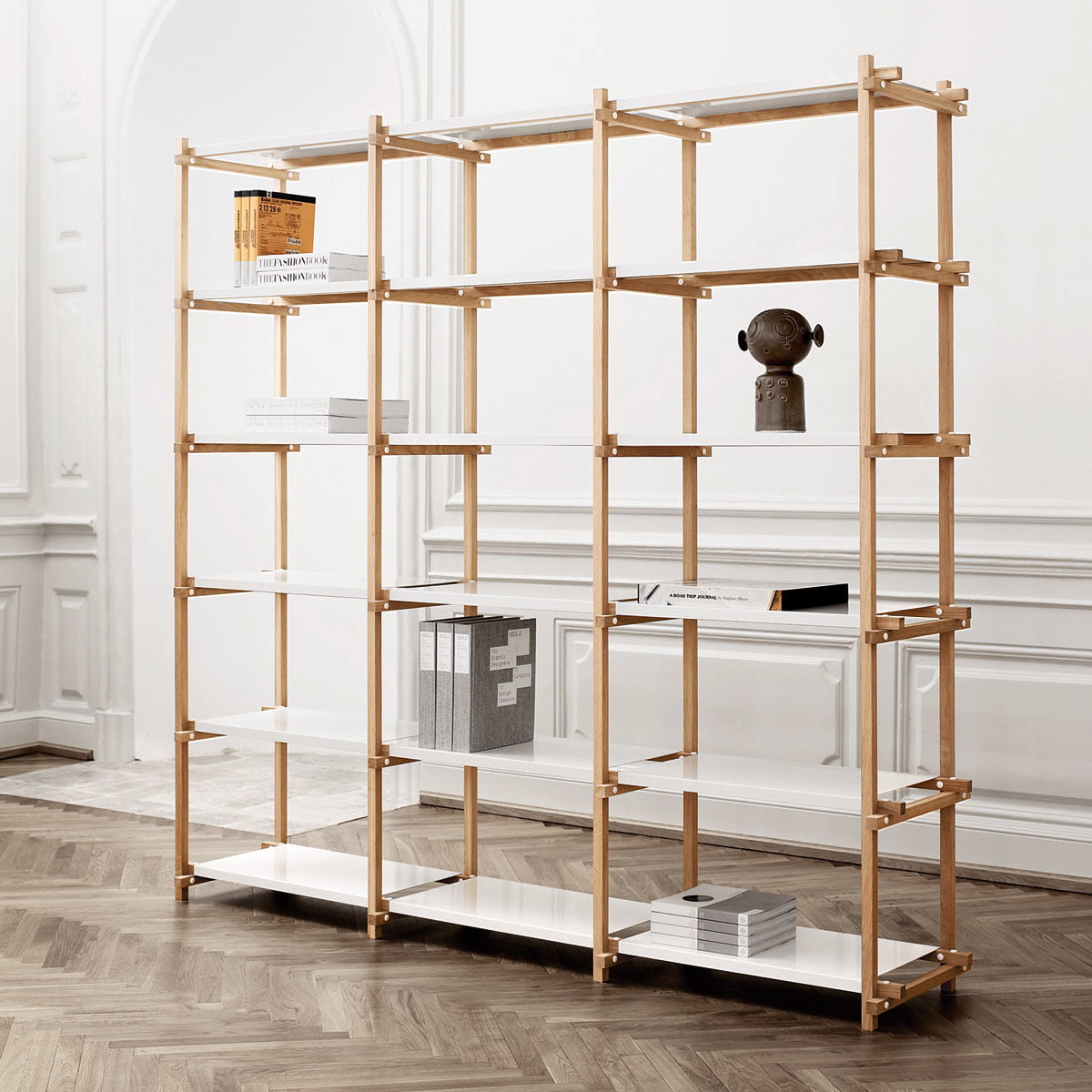 woody shelf by hay in the shop. Black Bedroom Furniture Sets. Home Design Ideas