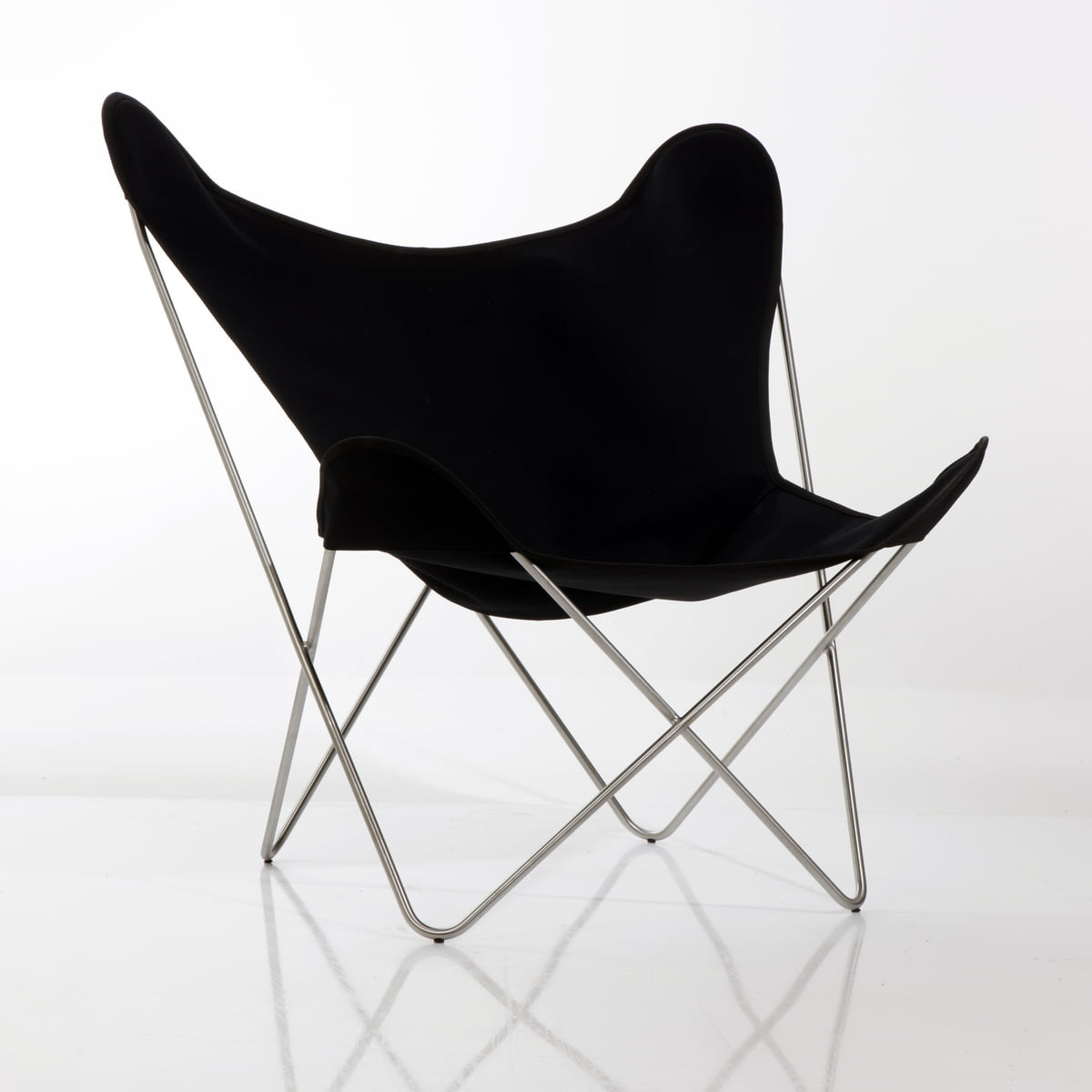 Butterfly chair black - Butterfly B K F Chair