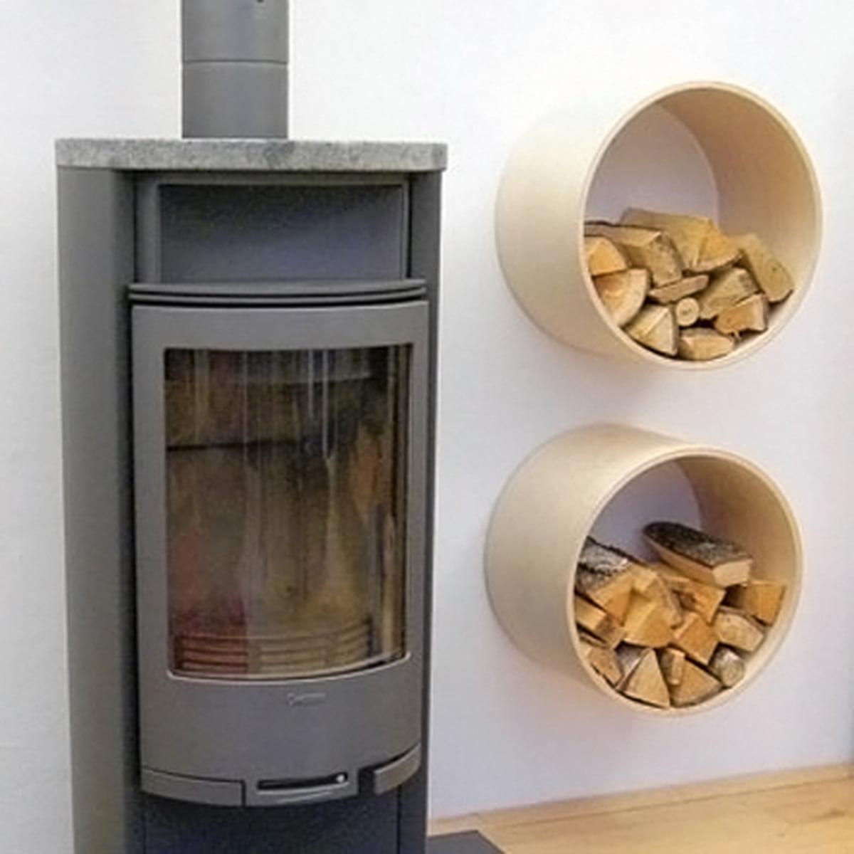 Емкость для дров у печки своими руками
