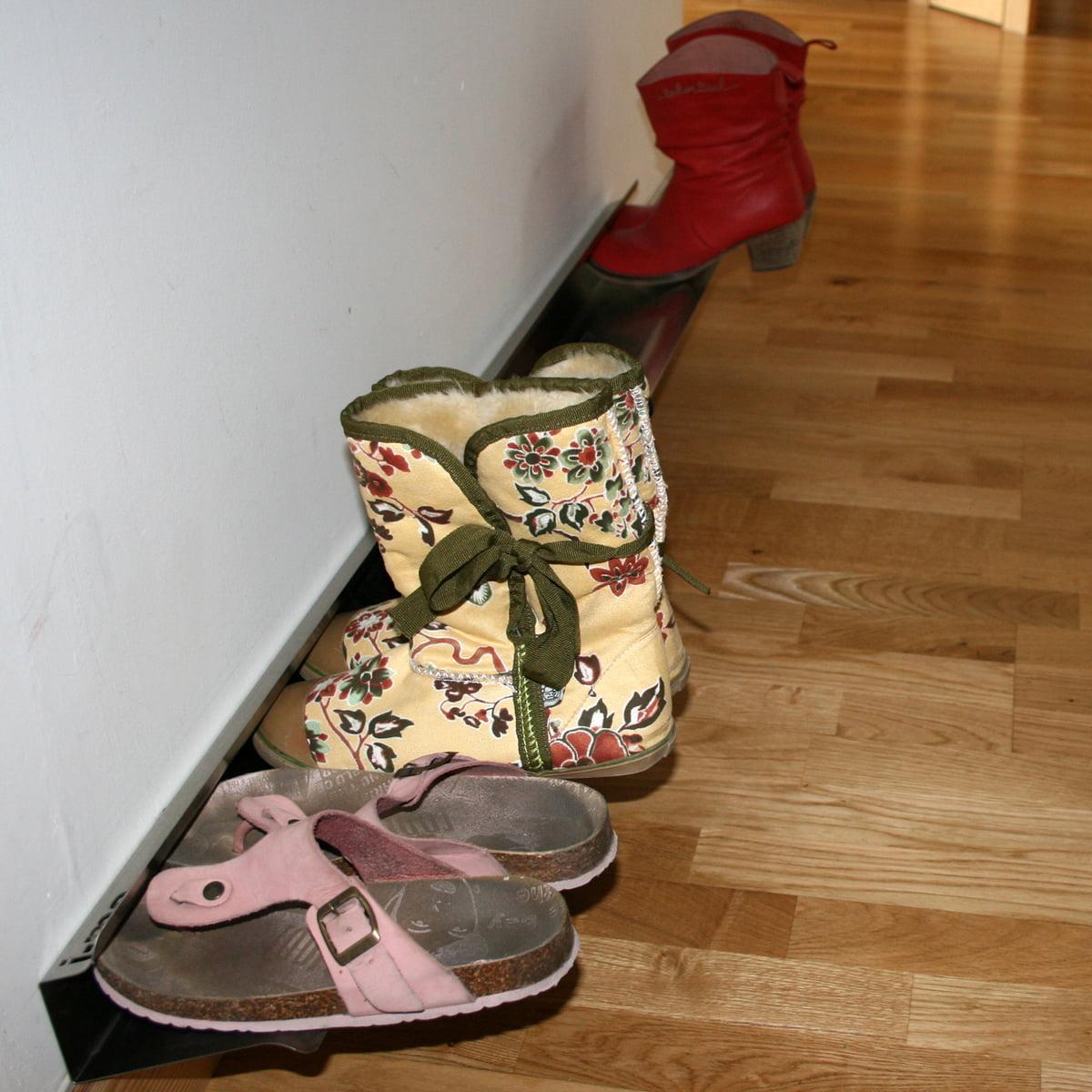 horizontal shoe rack by j me