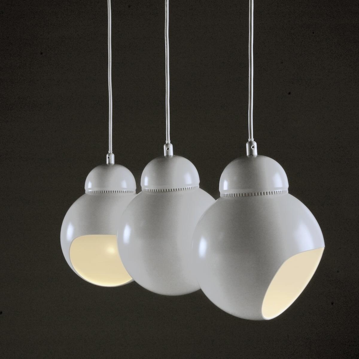 Artek products lighting pendant light a338 - Artek A 338 Bilberry Pendant White