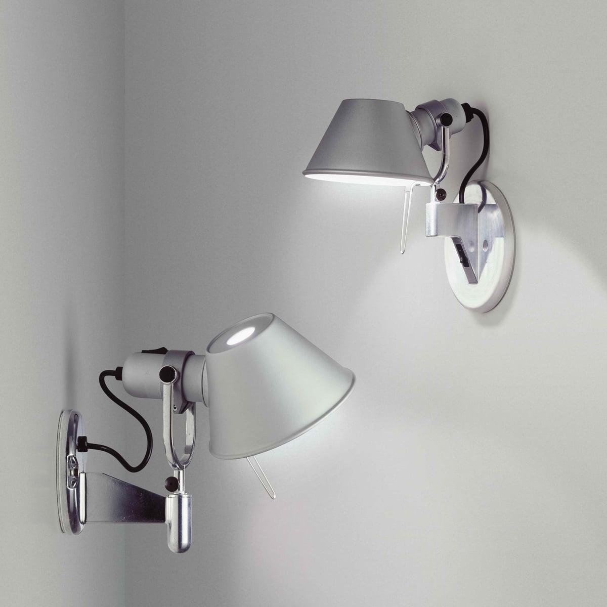 tolomeo faretto wall lamp  artemide  shop - the tolomeo faretto wall lamp by artemide