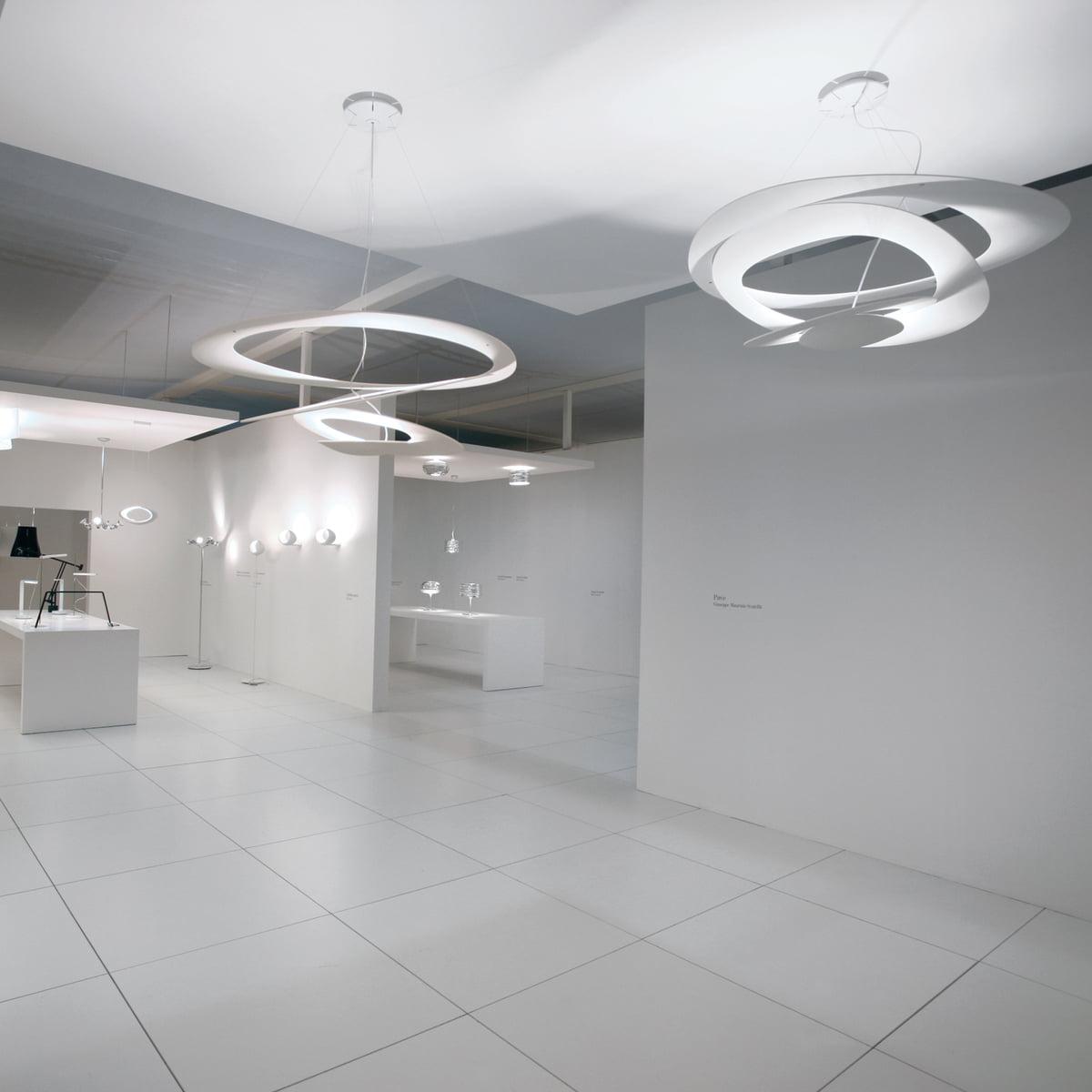 pirce sospensione halo  artemide  shop - artemide pirce pendant lamp