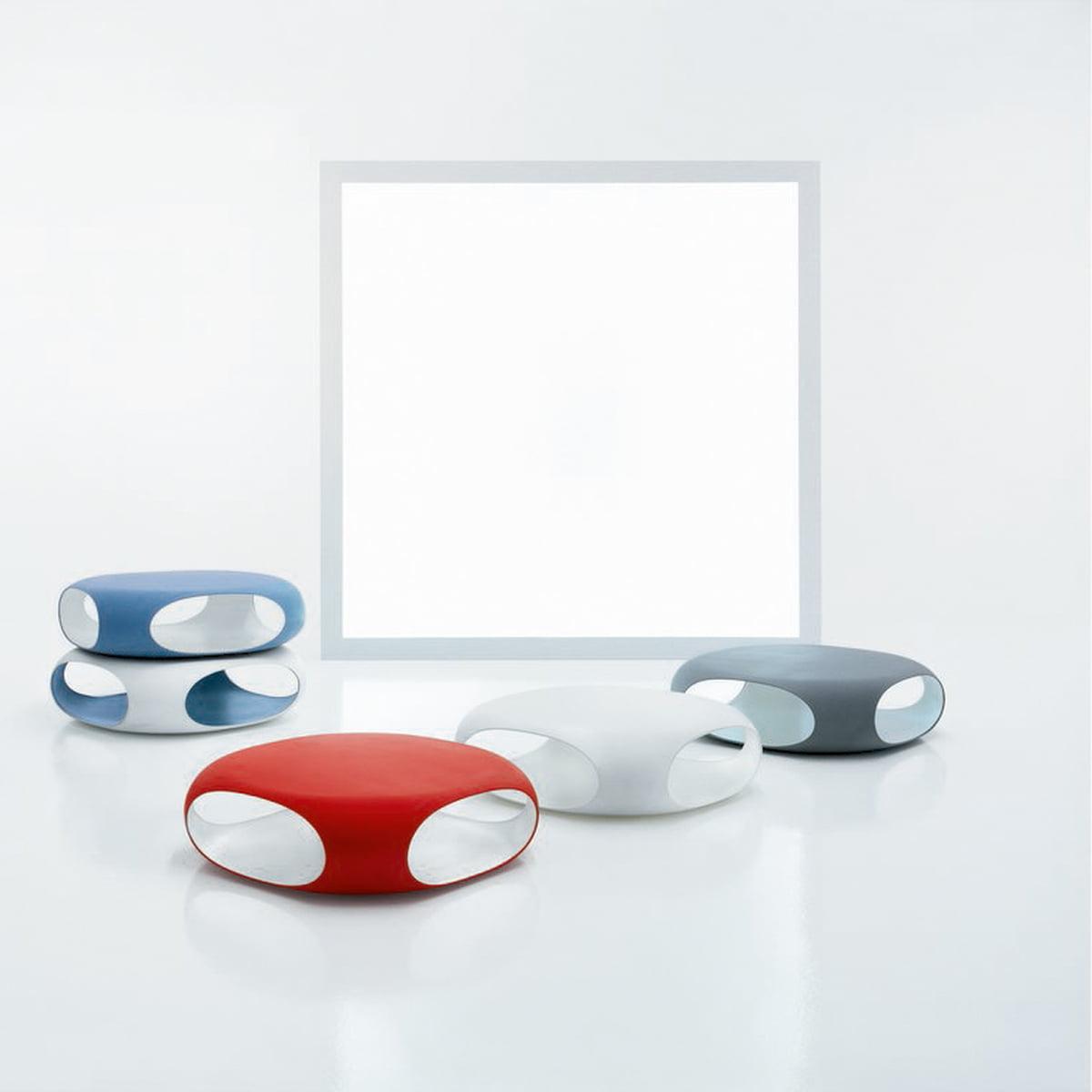 pebble coffee table | bonaldo | shop