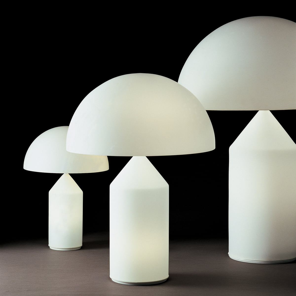 atollo table lamp oluce shop. Black Bedroom Furniture Sets. Home Design Ideas