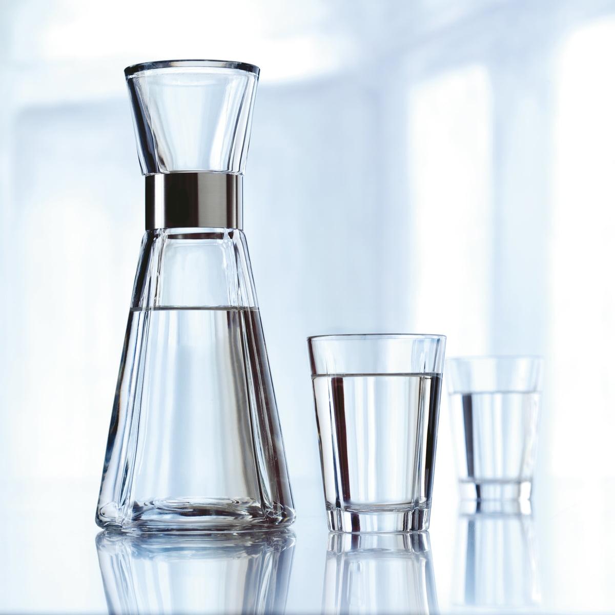 rosendahl grand cru water carafe  glasses - rosendahl  grand cru water carafe