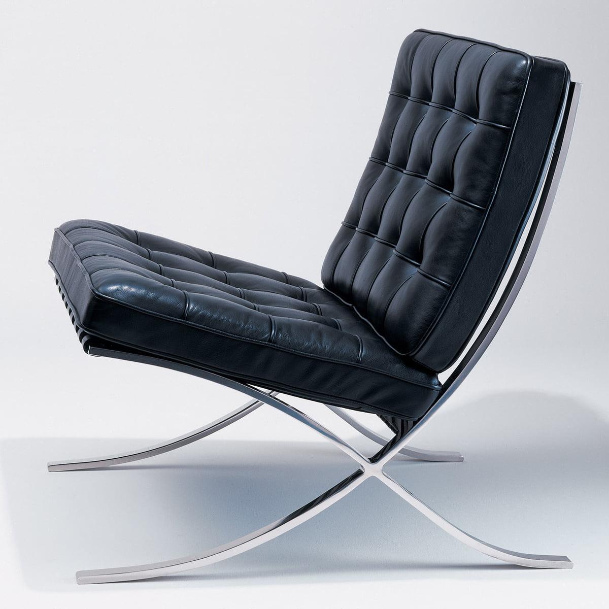 barcelona lounger knoll shop. Black Bedroom Furniture Sets. Home Design Ideas