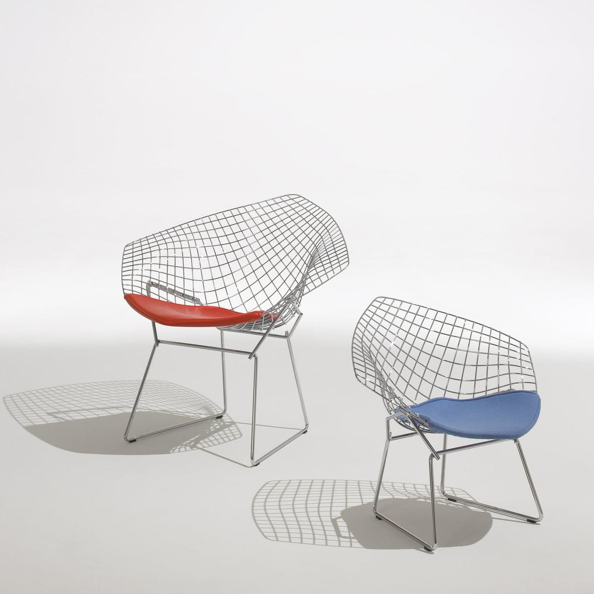 Bertoia diamond chair dimensions - Knoll Bertoia Diamond Lounger