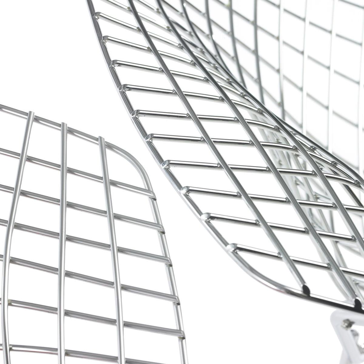 Bertoia diamond chair white - Knoll Bertoia Diamond Lounger