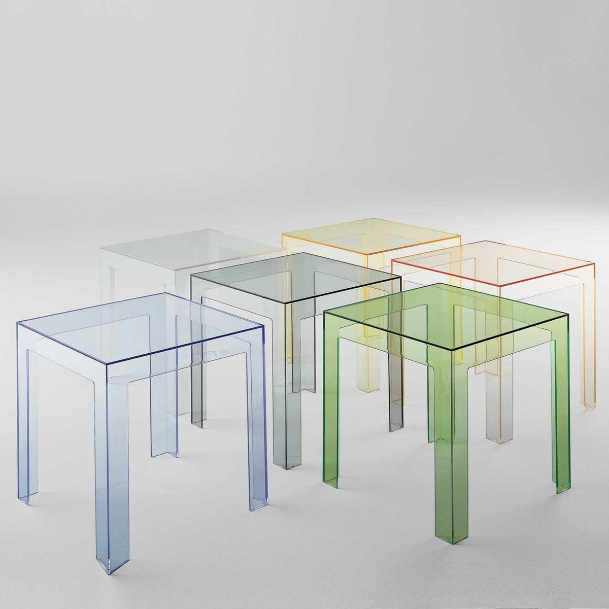jolly side table  kartell  shop - kartell  jolly side table