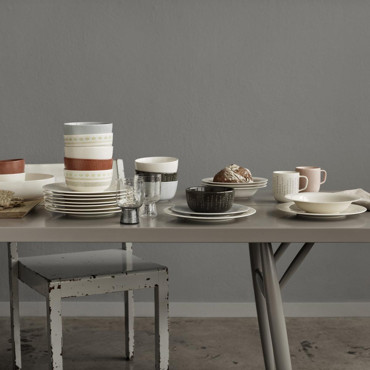 purchase the sarjaton plate by iittala in the shop - iittala  sarjaton collection