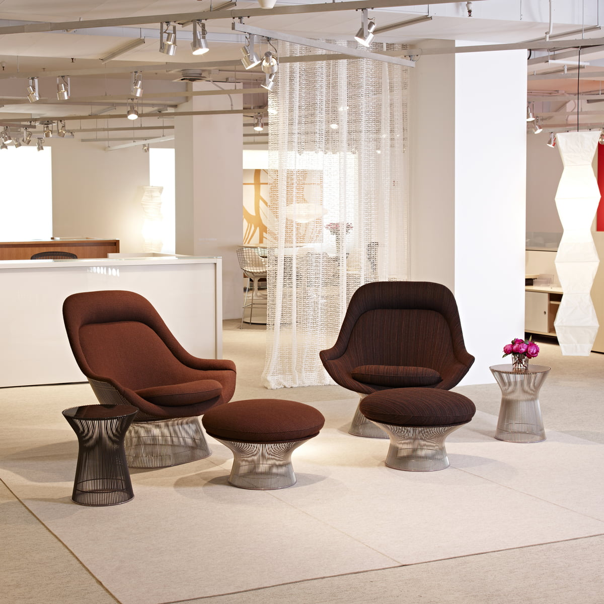 Knoll - Easy Chair and Ottoman