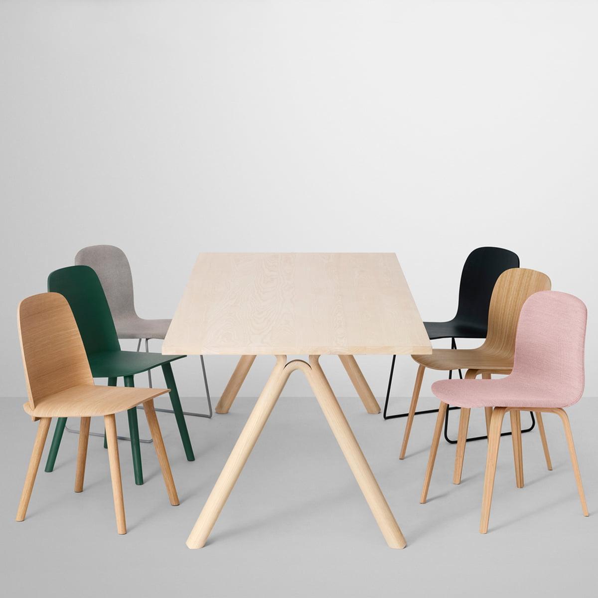 Split table muuto shop for Chaise basse design