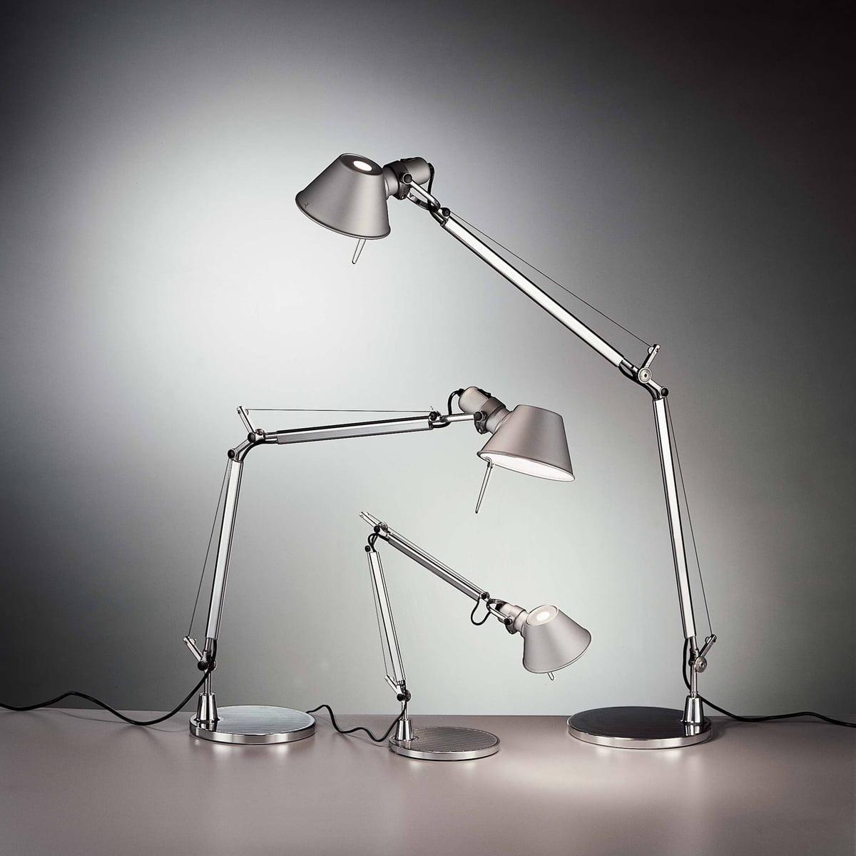 tolomeo mini table lamp by artemide - artemide  tolomeo mini table lamp