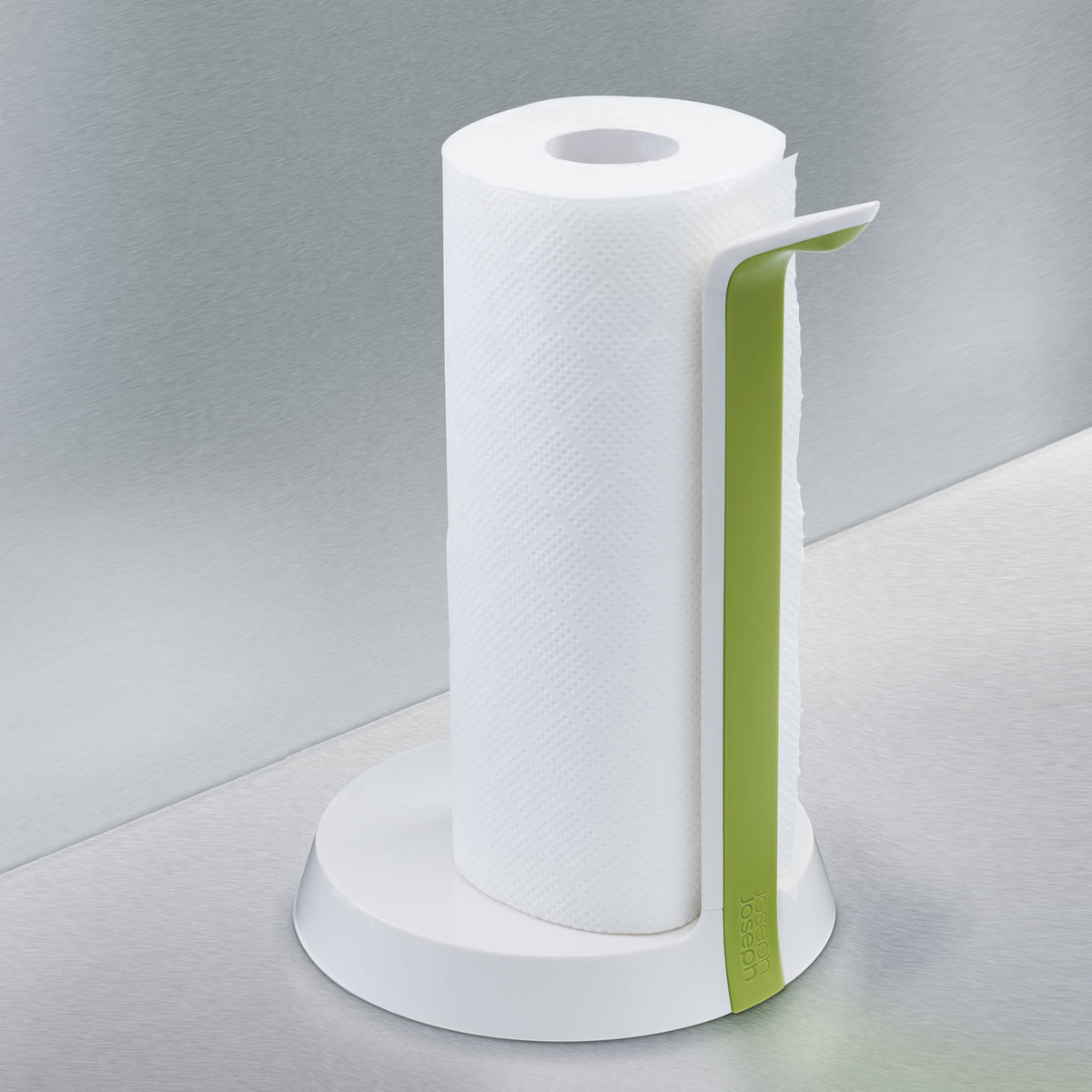 White Kitchen Roll Holder joseph joseph easy-tear kitchen roll holder