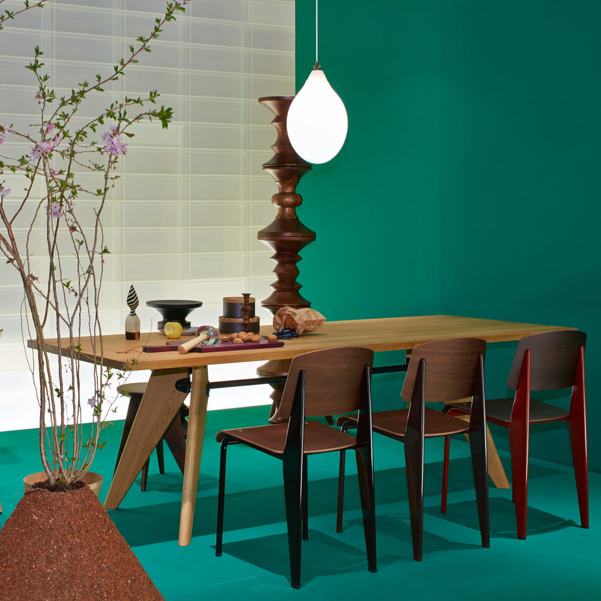 Table Solvay by Vitra in the home design shop : Solvay Table Ambiente 1 from www.connox.com size 1200 x 1200 jpeg 185kB