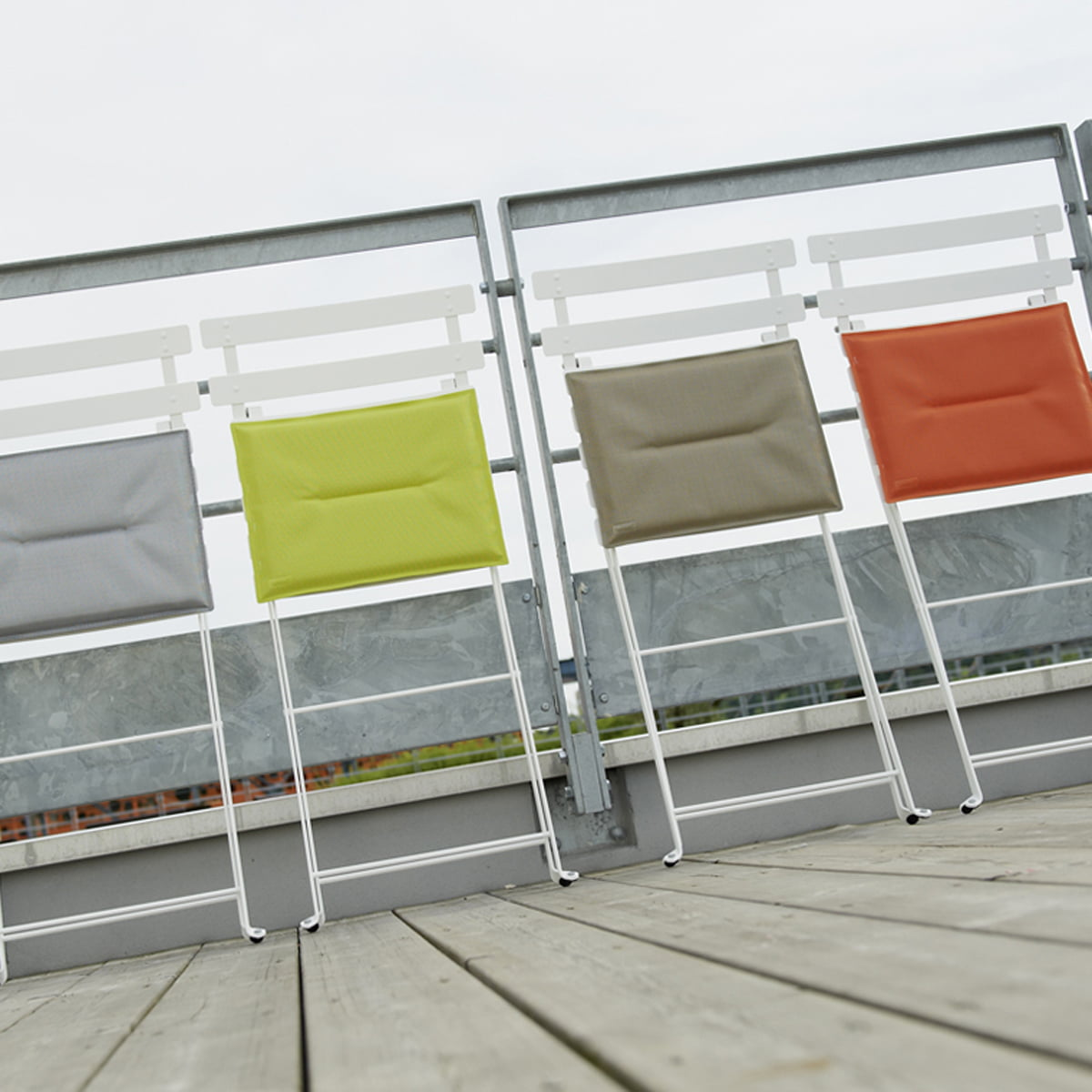 Cushions for the Bistro Chairs by Fermob