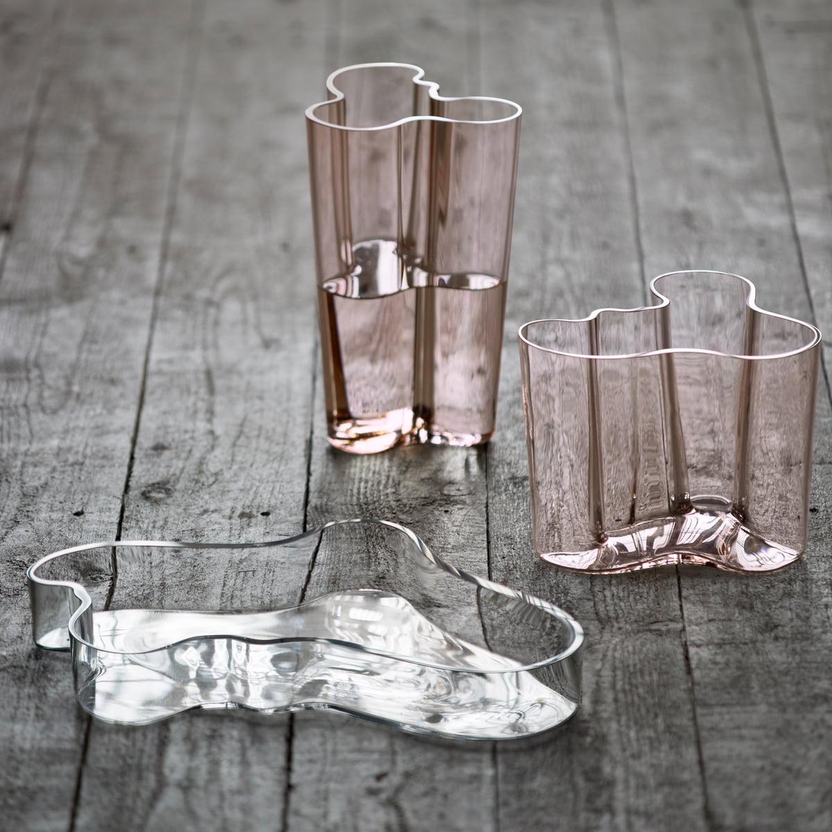 aalto vase savoy mm from iittala -