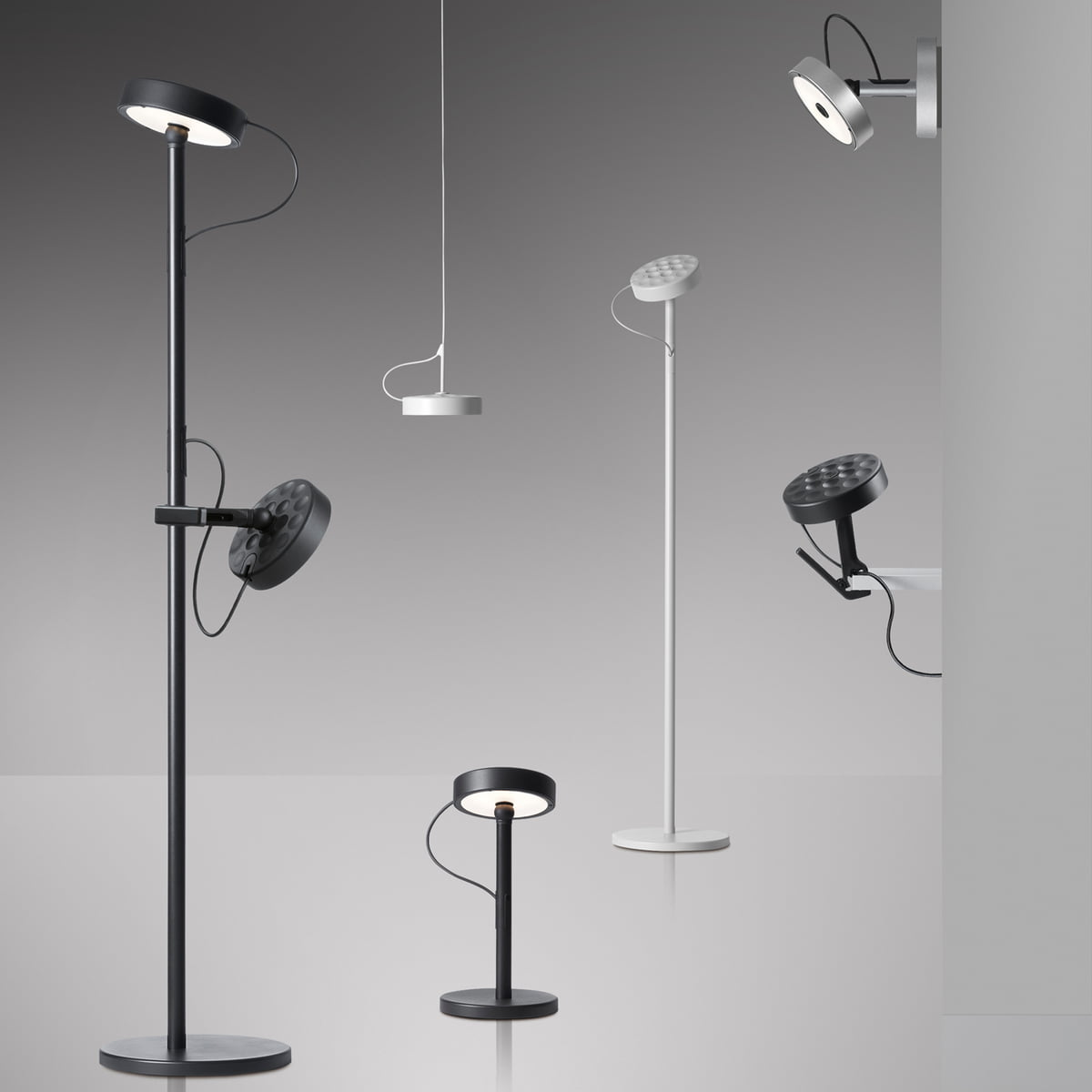 Led Table Lights Part - 37: Belux - U-Turn Floor And Reading Lamp, Collection