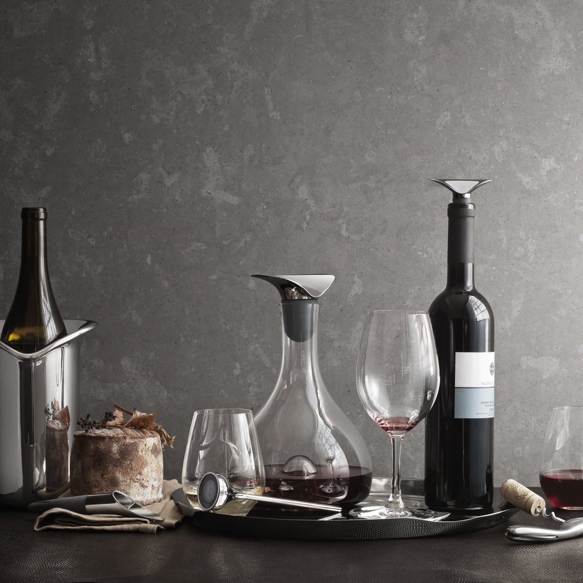 Georg Jensen S London Boutique By Studio David Thulstrup: The Wine Decanter By Georg Jensen In The Shop