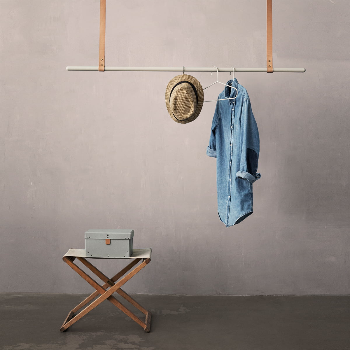 ferm living clothes rack hanging clothing rail
