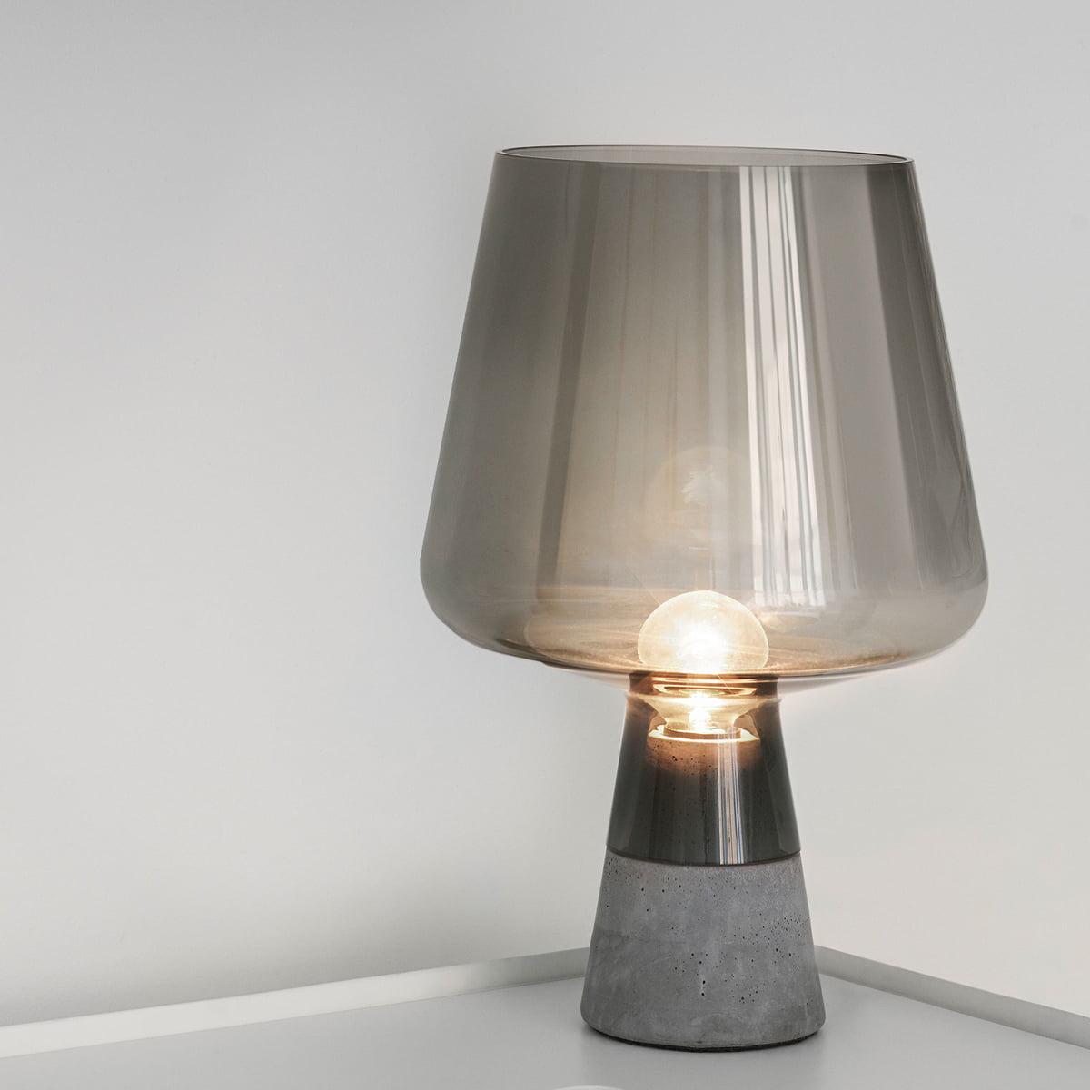 the iittala leimu lamp in the design shop - iittala  leimu lamp grey